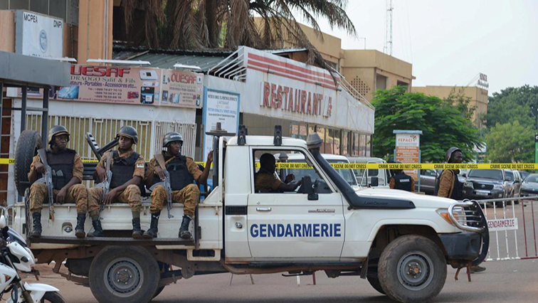 Security forces in Burkina Faso
