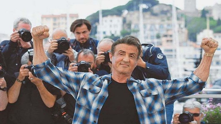 SABC News StalloneAFP - Stallone jokes about elocution school at sneak peek of 'Rambo V'
