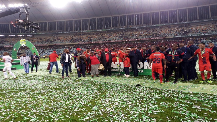 SABC News TS Galaxy Twitter - TS Galaxy complete fairytale Nedbank Cup to stunning win over Chiefs