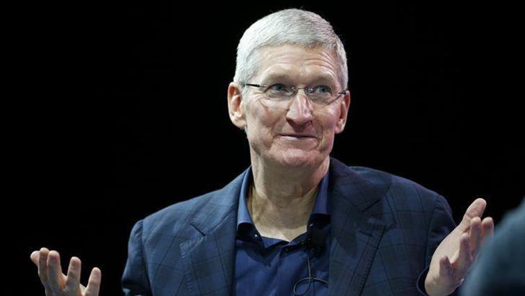 SABC News Tim Cook Reuters - Apple tops forecasts as pivot to services shows progress