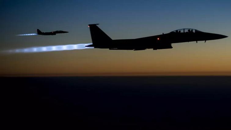 US air strike plane