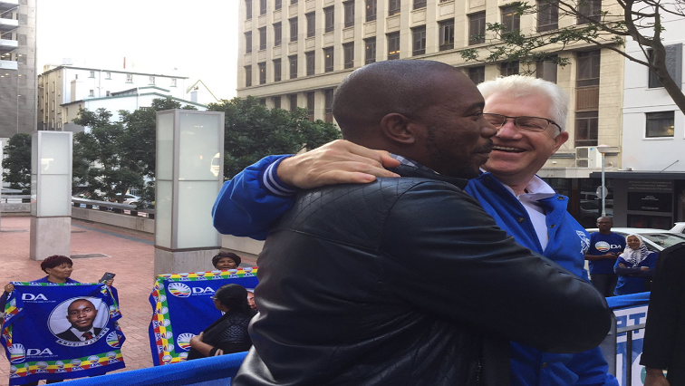 Alan Winde and Mmusi Maimane