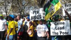 Jacob Zuma supporters
