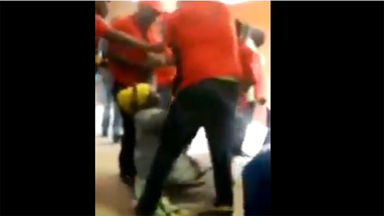 EFF supporters dragging a good