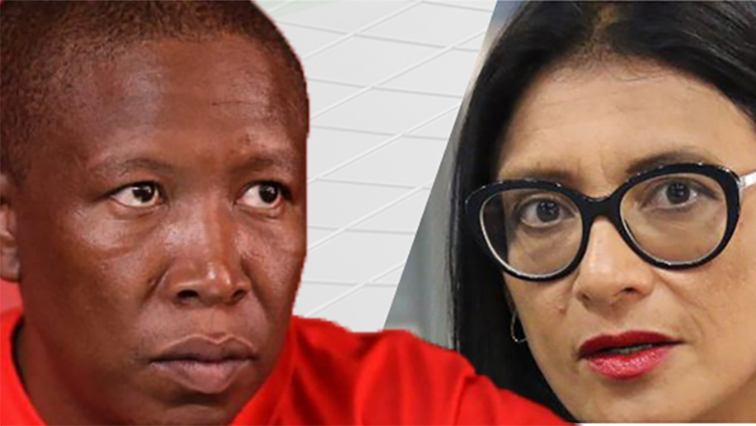 SABC News malema and karima brown - Journalist wants Malema to apologise, pay fine
