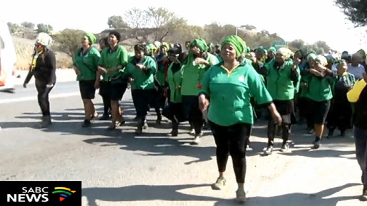 SABC News march nc - Samifra joins call to appoint female premier candidate in N West