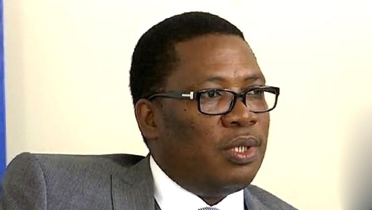 ANC provincial deputy chairperson, Panyaza Lesufi.