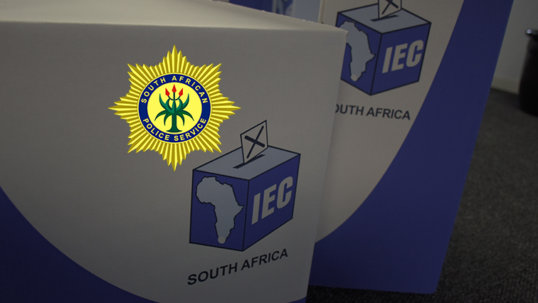 SABC News police vote 1 - Security tightened in Leandra ahead of voting