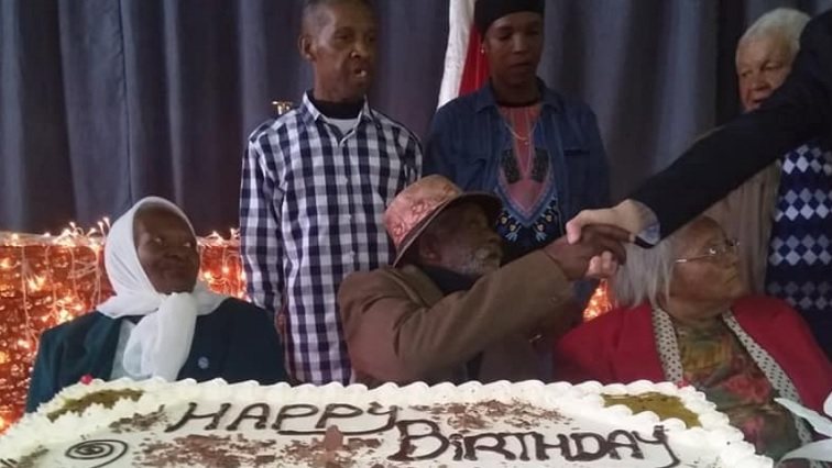 SABC News.j Frediepg - Cape Flats' Fredie Blom celebrated his 115th birthday