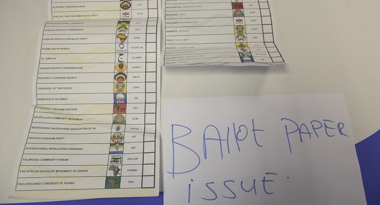 SABC News Ballot Paper 2 - IEC fails to answer why registration is electronic but voting manual