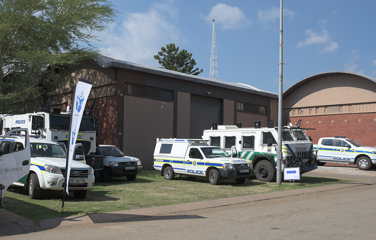SABC News Security Dinilohlanga Mekuto - Security tight as Ramaphosa expected to attend IEC results announcement