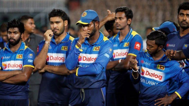 Sri Lanka players