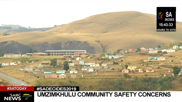 SABC Umzimkhulu P - uMzimkhulu voters trust police will ensure their safety