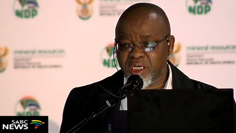 SABC News  Gwede Mantashe 1 - Mantashe hands over 50% Exxaro shareholding to former employees