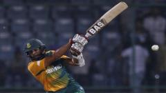 Hashim Amla batting