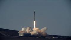 Falcon Nine rocket