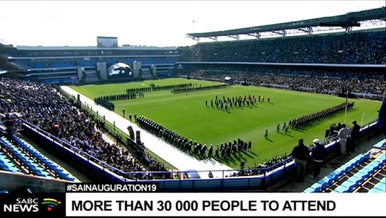 army display Loftus - SANDF says presidential inaugurations took months of planning