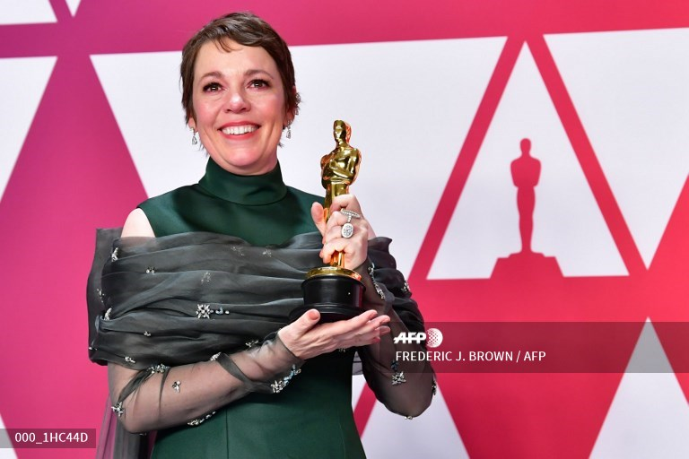 Olivia Colman AFP - Queen honours 'The Crown' actress Olivia Colman