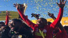 JDR Stars players celebrating