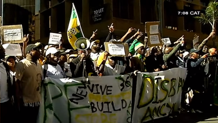 The Revive ANC Youth League' Movement on the streets