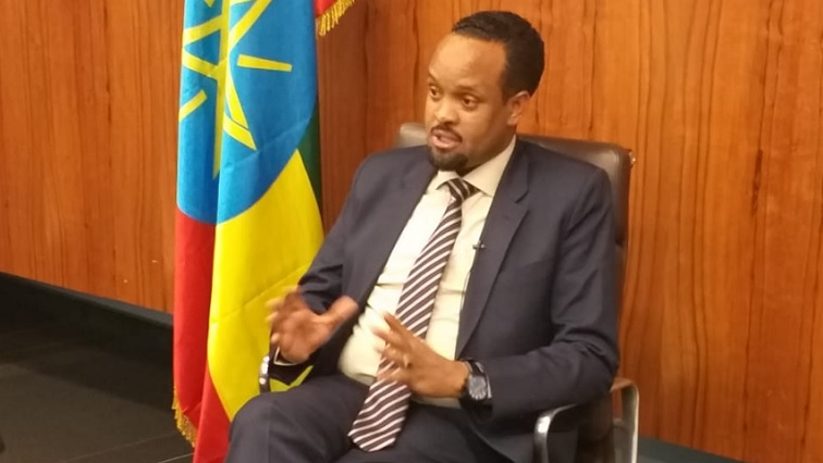 Finance Minister Ahmed Shide