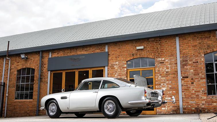 Aston Martin for James Bond