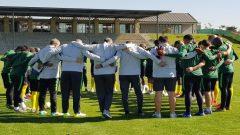 Bafana team players