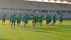 Bafana Bafana training