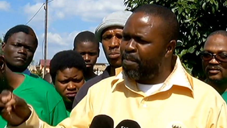 SABC News Bheki Gumbi - National People's Front wants Mantashe to attend to families of Lily Mine victims