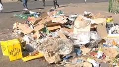 Litter in Bloemfontein