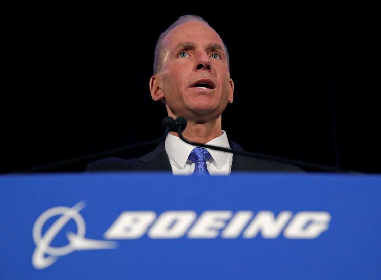 SABC News Boeing Reuters - Boeing CEO expected to reassure industry on 737 MAX fate at Paris Air Show