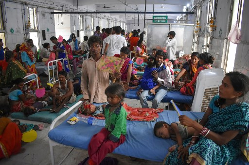 SABC News Brain Fever AFP - 'Brain fever' death toll passes 150 in Indian state