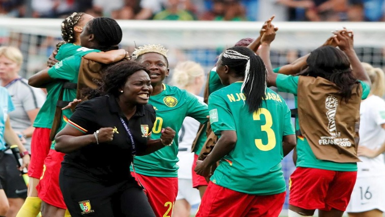 SABC News Cameroon R - Nchout sends Cameroon through with last kick of game