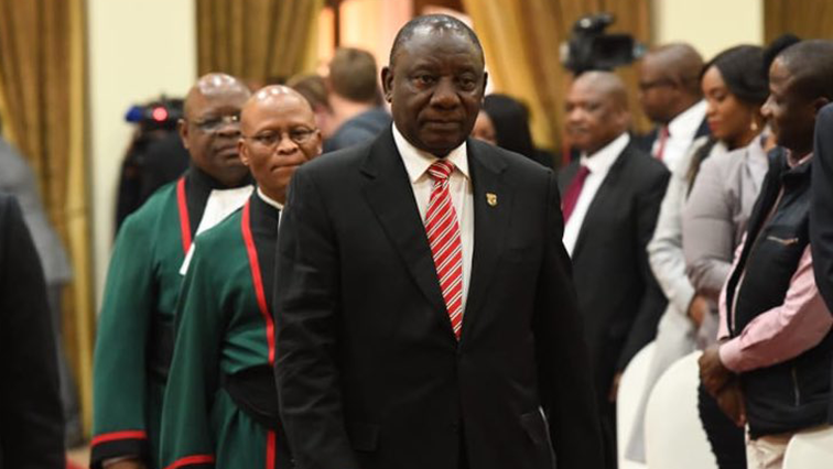 SABC News Cyril Ramaphosa Twitter @GovernmentZA - All systems go for 6th Parliament SONA