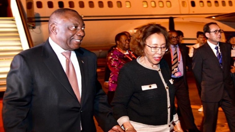 SABC News Cyril Ramaphosa.jpg PresidencyZA - President Ramaphosa in Japan for G20 Summit