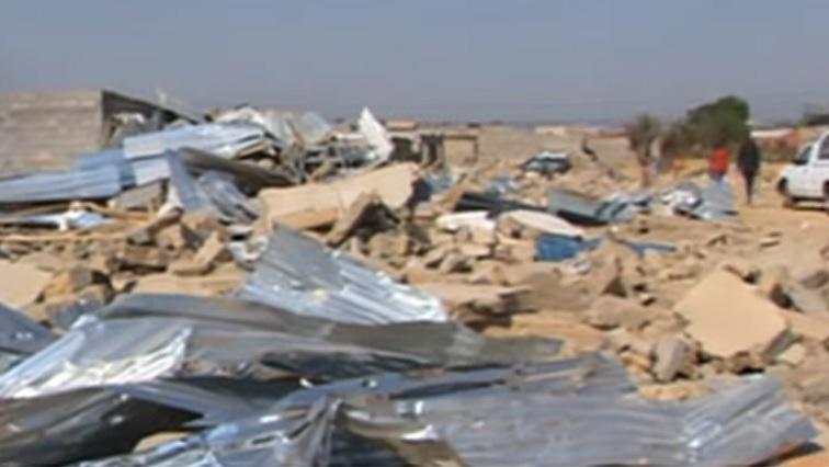 SABC News Demolish - Alex Total Shutdown Movement against rebuilding of demolished structures
