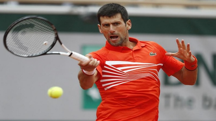 SABC News Djokovic Reuters - Djokovic reaches 10th successive French Open quarter-final