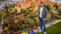 Horticulturist Leon Kluge