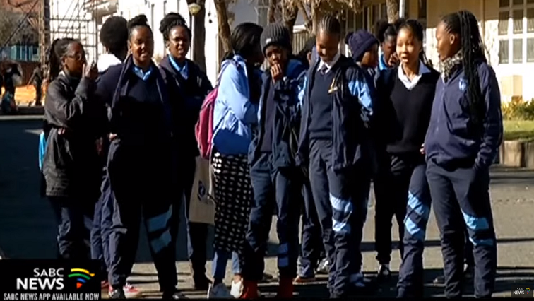Learners standing together