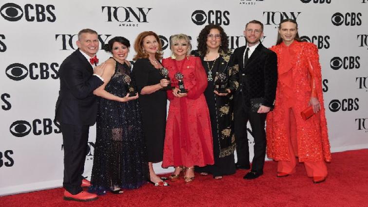 SABC News Hadestown AFP - Musical inspired by Greek mythology wins at Tony Awards