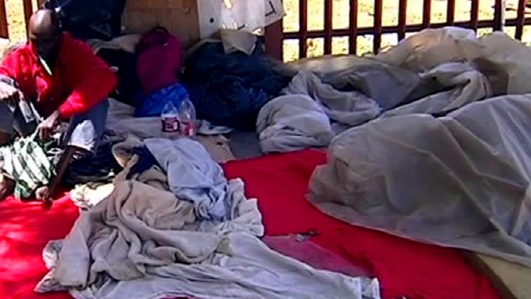 SABC News Homeless 2 1 1 - Vigil for murdered homeless men in Pretoria