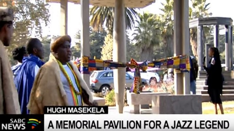 SABC News Hugh P - A Memorial pavilion to honour Hugh Masekela