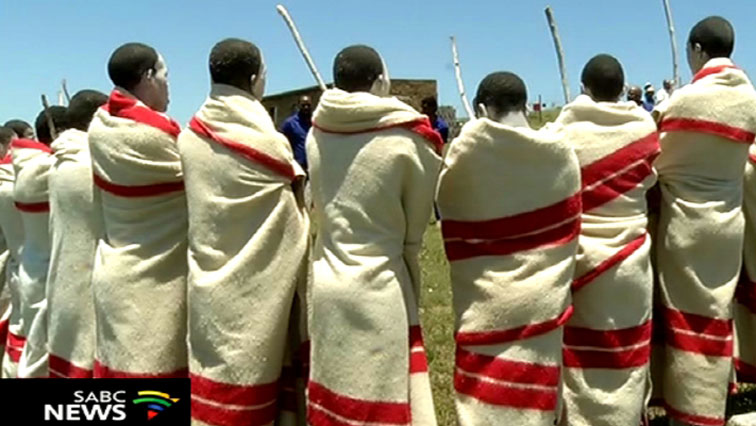 SABC News Initiates P 1 - Traditional leaders concerned about illegal circumcisions in Eastern Cape