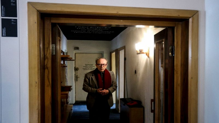 SABC News Ismail Kadare AFP - Home of Albanian author Kadare becomes a museum