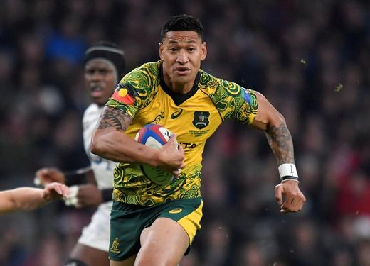 Rugby Union - England v Australia - Twickenham Stadium, London, Britain - November 24, 2018 Australia's Israel Folau.