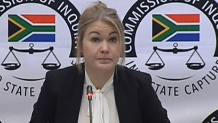 SABC News Kalandra Viljoen - Viljoen not aware of regulations to curb money laundering