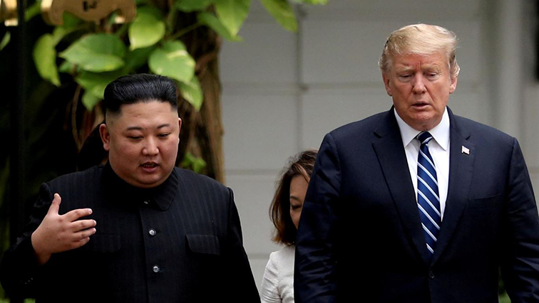 Kim Jong Un and President Donald Trump