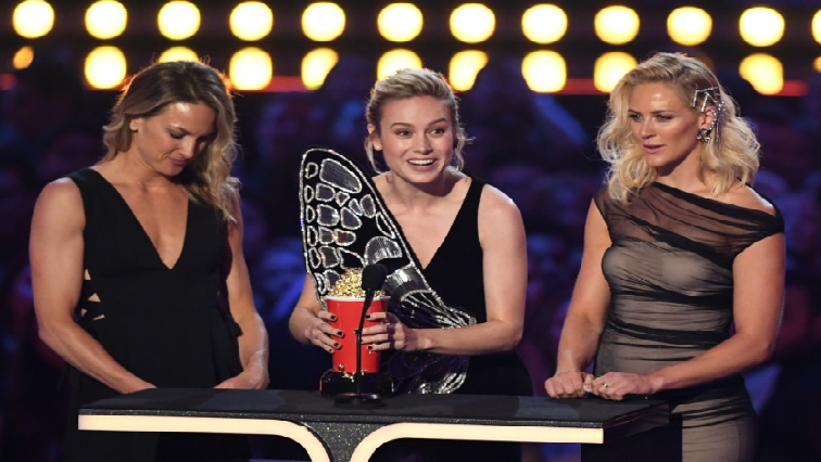 SABC News MTV movie awards AFP - 'Avengers' dominates MTV awards as Larsen honours stunt doubles
