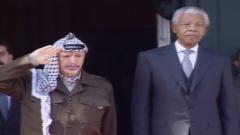 Nelson Mandela and Yaser Arafat