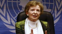 The Chair of The Elders Mary Robinson